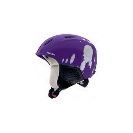 Шлем ALPINA Carat LX deep violet blob 54-58