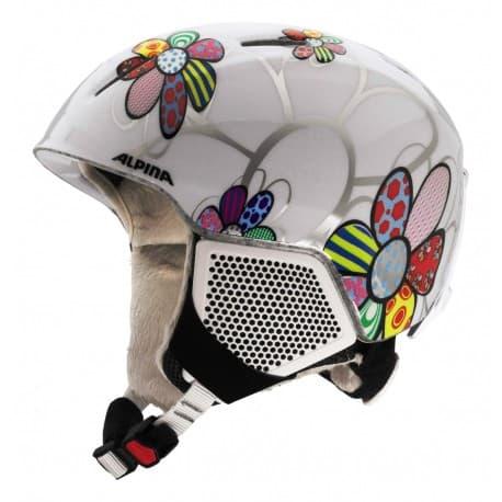Шлем ALPINA Carat LX Patchwork-flower 54-58