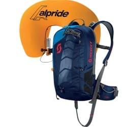 Лавинный рюкзак SCOTT Air Free AP 10 kit blak iris/blue