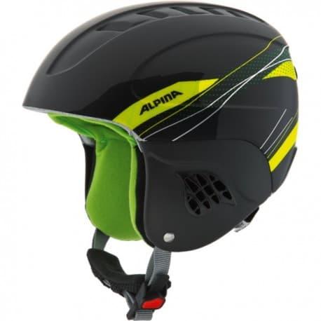 Шлем ALPINA Carat Black-green 51-55