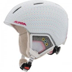 Шлем ALPINA Carat XT White polka matt 54-58
