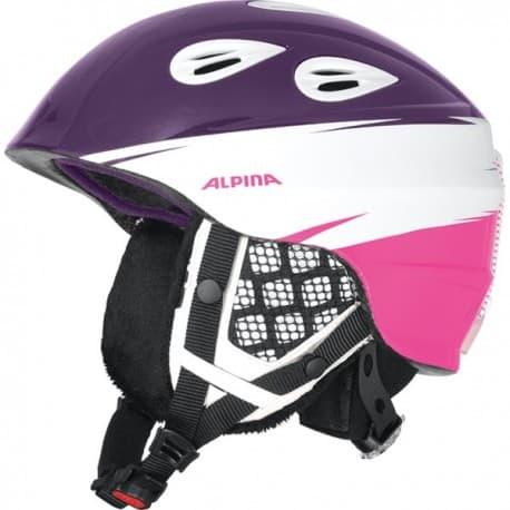 Шлем ALPINA Grap 2.0 JR violet-pink 54-57