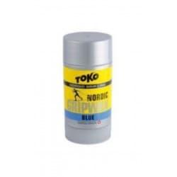 Мазь держания TOKO Nordic GripWax (синяя, -7/-30) 25 гр.