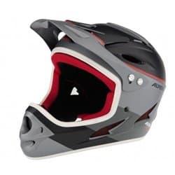 Шлем ALPINA Fullface titanium-red 60-61