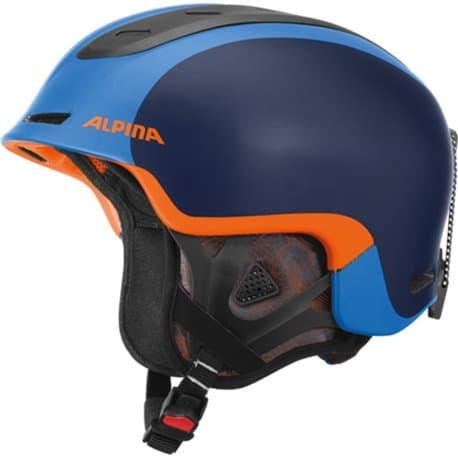 Шлем ALPINA Spine Blue-Orange matt 58-61