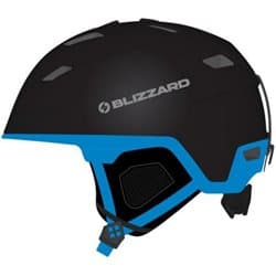 Шлем BLIZZARD® Double Black matt/Progr. Blue 60-62