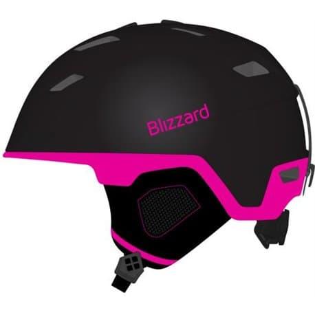 Шлем BLIZZARD Viva Double Black matt/Magenta 56-59
