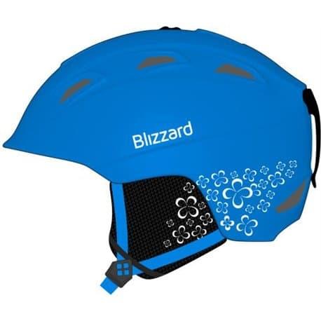 Шлем BLIZZARD Viva Demon Blue matt/White 56-59