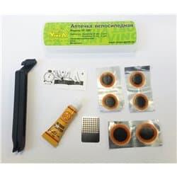 Аптечка вело VINCA VS 3207 (заплатки 25mm, 20mm)