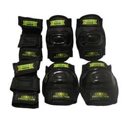 Комплект защиты VINCA детский VP32 Black S