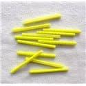 Светоотражающие накладки на спицы 12шт. STA113 желтый