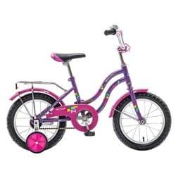 """Велосипед 16"""" NOVATRACK TETRIS 16 (2017) фиолетовый, для детей 3-5 лет"""