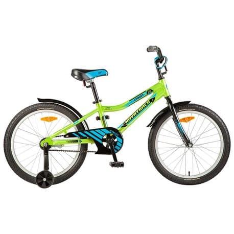 """Велосипед 20"""" NOVATRACK CRON алюминиевая рама, зеленый"""