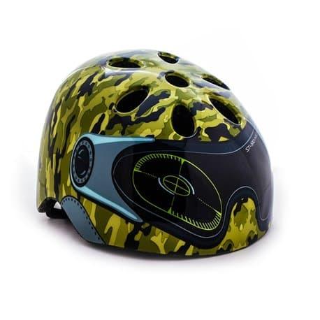 Шлем вело дет. VINCA VSH 9 Military Р:M (52-56)