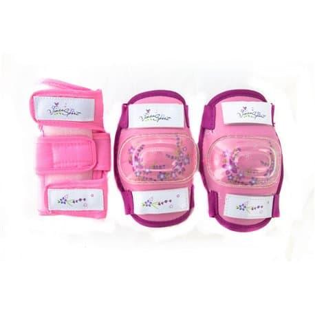 Комплект защиты VINCA детский VP32 Pink S