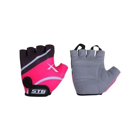 Перчатки STG черно-розовые M X61872-M