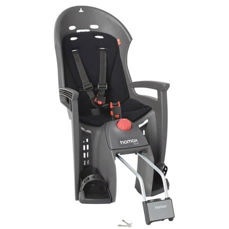 Кресло детское HAMAX Siesta серый/черный