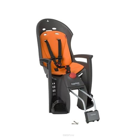 Кресло детское HAMAX Siesta серый/оранжевый