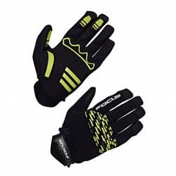Перчатки FOKUS AM GLOVES Black/Green L
