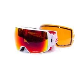 Очки SALICE® 605 DARWF WHITE-RED/RED OTG + SONAR