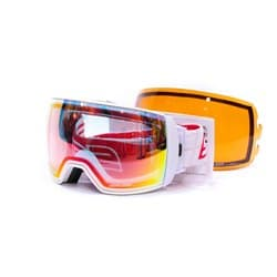 Очки SALICE® 605 DARWF WHITE-RED/CLEAR C.1 OTG + SONAR
