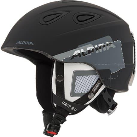 Шлем ALPINA Grap 2.0 Black-grey matt 61-64