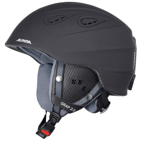 Шлем ALPINA Grap 2.0 Black matt 57-61