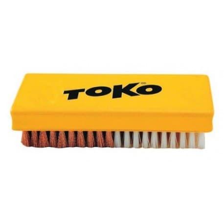 Щетка TOKO COMBI нейлон+медь 14 mm