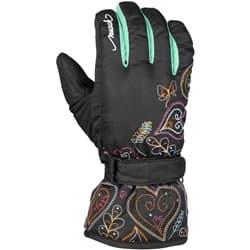 Перчатки REUSCH JR Penny R-TEX Black/Menthol P:5.5