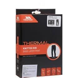 Термобелье брюки TRESPASS YOMP360 Black Р:S-M