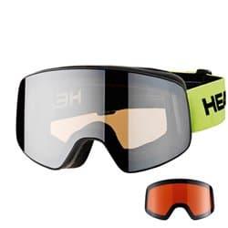 Очки HEAD Horizon Race DH + Sparelense Lime 373305