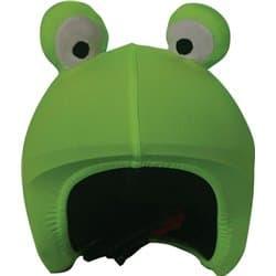 Нашлемник COOLCASC 002 Frog зеленый/лягушка