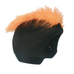 Нашлемник COOLCASC S067 Furry Orange Черный/оранжевый