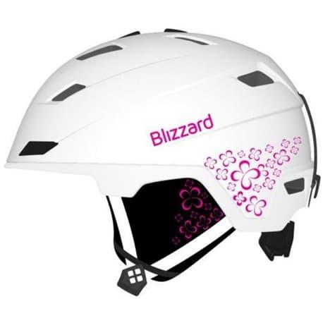 Шлем BLIZZARD® Viva Double White matt/Magenta Flowers 56-59
