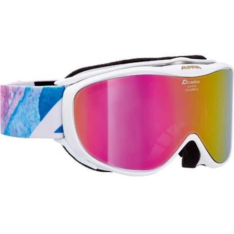 Очки ALPINA Challenge 2.0 ММ White/Blue/Pink/Print