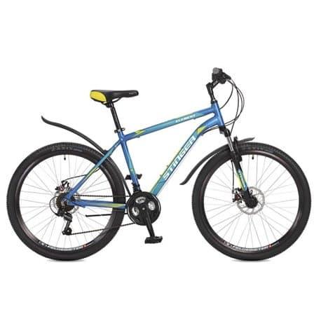 """Велосипед 26"""" STINGER ELEMENT D 18"""" алюминиевая рама, дисковые тормоза, 18 скоростей"""