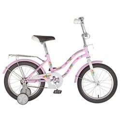 """Велосипед 16"""" NOVATRACK TETRIS Розовый, для детей 3-5 лет"""