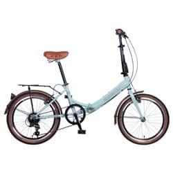 """Велосипед Cкладной 20"""" NOVATRACK Aurora 20 6 (2016) 6 скоростей Светло-бирюзовый"""
