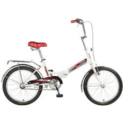 """Велосипед Cкладной 20"""" NOVATRACK Складной TG-30 Белый"""