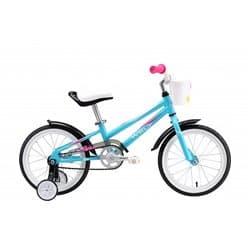 "Велосипед 16"" WELT Pony light blue/pink/white 2018"