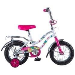 """Велосипед 12"""" NOVATRACK TETRIS Белый, для детей 3-5 лет"""