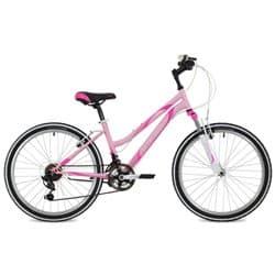 """Велосипед 24"""" STINGER LATINA 12.5"""" 12 скор. Розовый"""