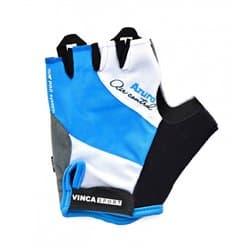Перчатки вело VINCA VG-933 AZURO Blue M