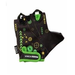 Перчатки вело VINCA детские VG-936 Robocop (7 лет)