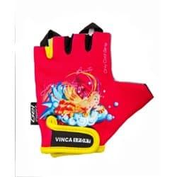 Перчатки вело VINCA детские VG-937 Princess (4 года)