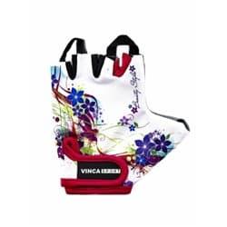 Перчатки вело VINCA детские VG-938 Flowers (5 лет)