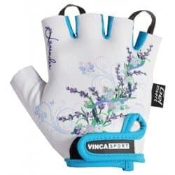 Перчатки вело VINCA детские VG-938 Lavender (6 лет)