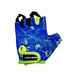 Перчатки вело VINCA детские VG-939 Letters (7 лет)
