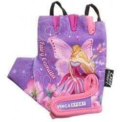 Перчатки вело VINCA детские VG-953 Fairy Camilla (7 лет)