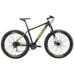 """Велосипед 27.5"""" WELT Rockfall 1.0 SE 18"""" mat violet/acid green 2018"""